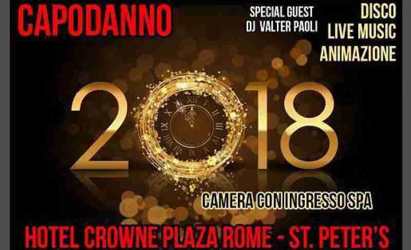 Capodanno Hotel Crowne Plaza Rome
