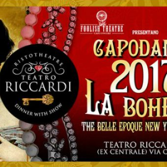 Capodanno teatro Ricciardi