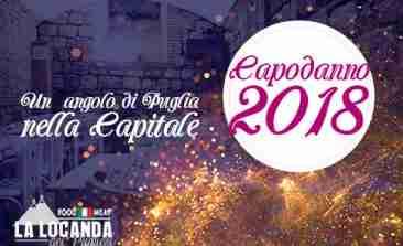 Capodanno La locanda dei pugliesi Roma