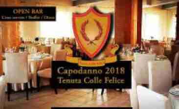 Capodanno Tenuta Colle Felice Castelli Romani