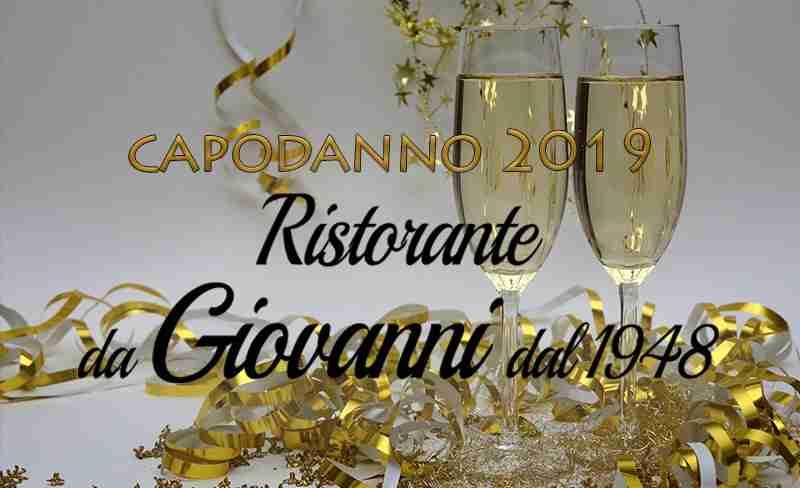 Capodanno Antica Osteria da Giovanni Roma
