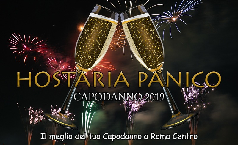 Capodanno Hostaria Panico Roma