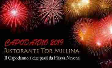 Capodanno Ristorante Tor Millina Roma