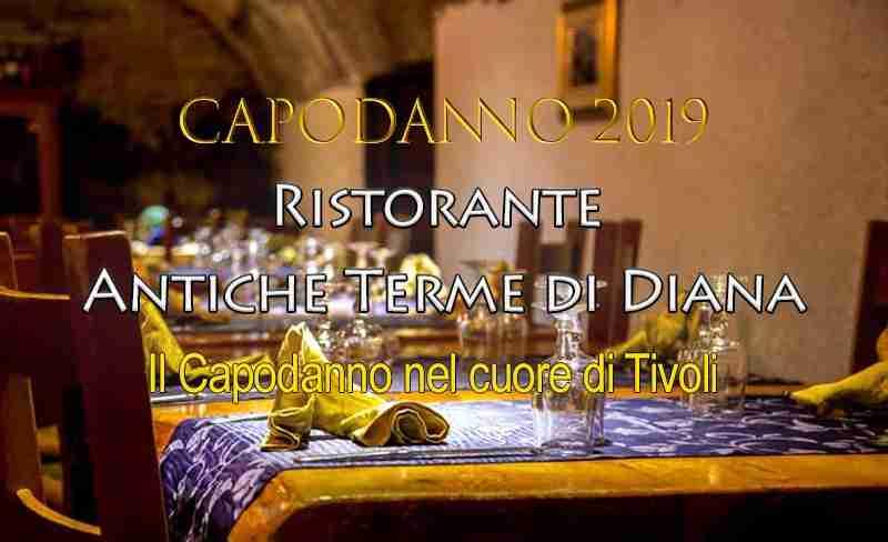 Capodanno Antiche Terme di Diana Tivoli