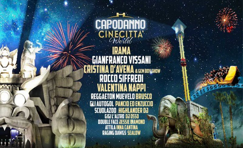 Capodanno Cinecittà World