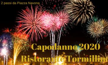 Capodanno 2020 Ristorante Tor Millina