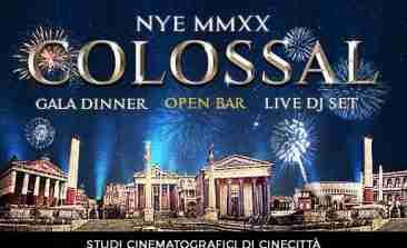 Capodanno 2020 Studi di Cinecittà Roma